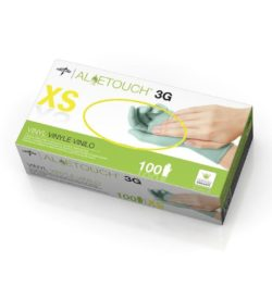 Aloetouch 3G Synthetic Exam Gloves, Green | Medical Supplies | DiaMedical USA