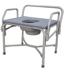 MDS89668XW Bariatric Drop-Arm Commode