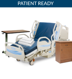 Hillrom CareAssist Hospital Bed Patient Room Suite Package