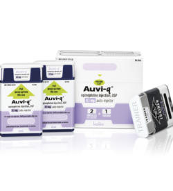 AUVI-q Epinephrine Auto-Injector For Toddlers - Pack of 2 With Trainer