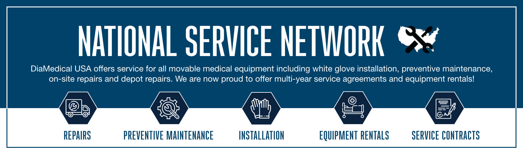 DiaMedical USA National Service Network